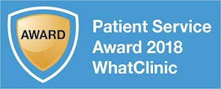 Patient Service Award 2018 - WhatClinic